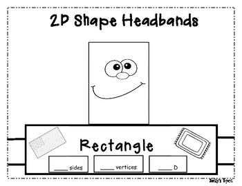 2 D Shape Headbands