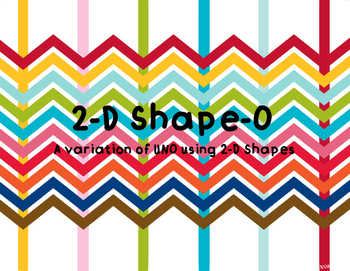 2-D Shape-O TEKS 5.5A