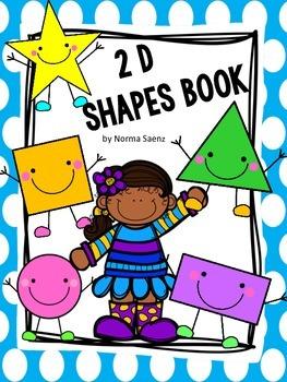 2 D Shapes Book