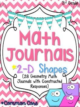 2-D Shapes Math Journals
