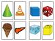 2-D and 3-D Shape Memory Match  (A Math Center Game)