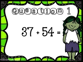 2 Digit Addition Review