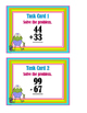 2-Digit Addition & Subtraction Problems - With & Without R