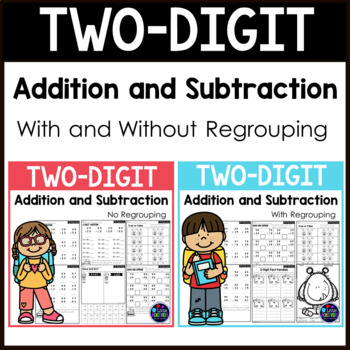 2 Digit Addition and Subtraction Worksheets