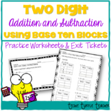 2-Digit Addition/Subtraction (with & without regrouping) -