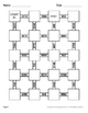 2-Digit By 2-Digit Multiplication Maze