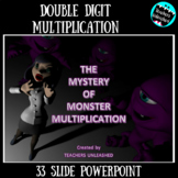 Multiplication PowerPoint Lesson {Double Digit Standard Al