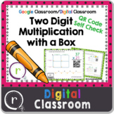 2 Digit Multiplication QR Code Check Partial Products Goog