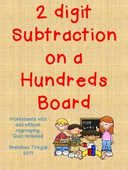 2 Digit Subtraction on a Hundreds Board