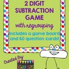 2-Digit Subtraction with Regrouping Game