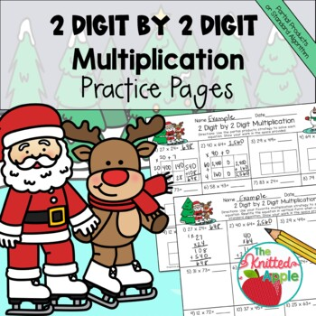 2 Digit by 2 Digit Multiplication using Partial Products {