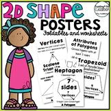 2D Shape Posters with Printables {Classifying Shapes and A