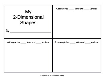 2-Dimensional Shapes