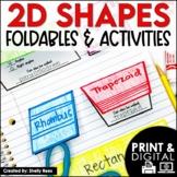 2-Dimensional Shapes Foldables Packet: Quadrilaterals, Tri