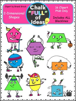 2-Dimensional Shapes {Graphics for Personal and Commerical Use}