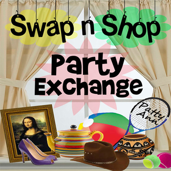Party Activity Idea > 2 Good 2 Throw Out Exchange! Repurpo
