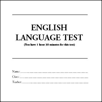 1hr 30 Mins - English (ESL) Test - Listening and Reading
