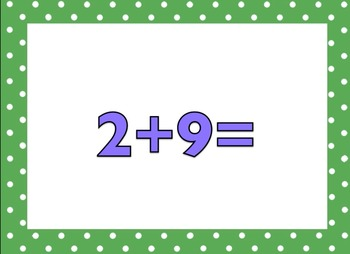 +2 Math Facts (no answer)