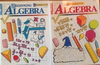 Algebra Puzzle Workbooks -2 Book Bundle