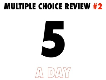 #2 Multiple Choice Review Global History 50 Questions with