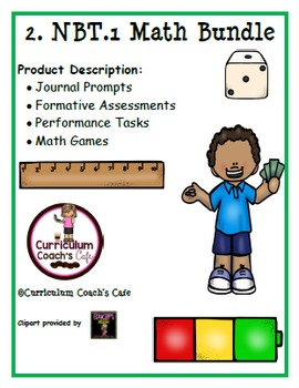 2.NBT.1 Common Core Aligned Math Bundle
