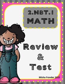 2.NBT.1 MATH TESTS