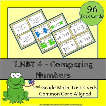 2.NBT.4 Task Cards: Comparing Numbers Task Cards 2.NBT.4: