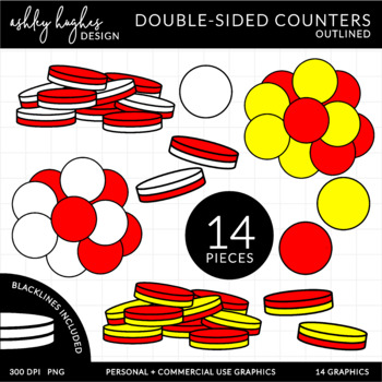 2 Sided Counters{Graphics for Commercial Use}