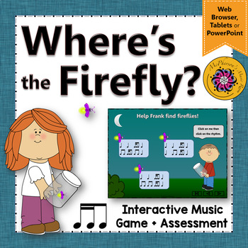 2 Sixteenths/1 Eighth Where's the Firefly? Interactive Rhy