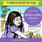 5 FREE Spanish Read and Sing Little Books