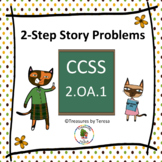 2-Step Story Problem Task Cards
