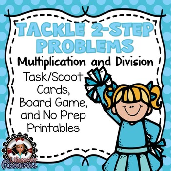 2-Step Word Problems Game Multiplication and Division