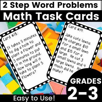2 Step Word Problems - Grade 3 - 3.OA.8
