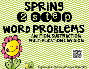 2 Step Word Problems-Spring(3.OA.D.8)