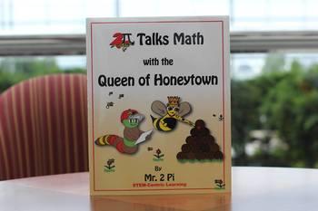 2π Talks Math with the Queen of Honeytown