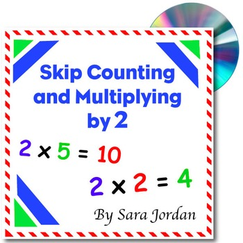 Skip Counting & Multiplying by 2 - Song w/ Lyrics & Activi