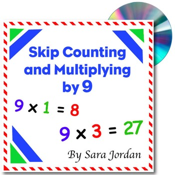 Skip Counting & Multiplying by 9 - Song w/ Lyrics & Activi