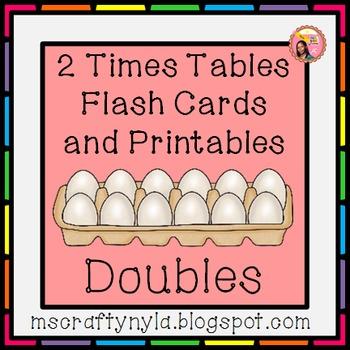 2 Times Tables Printables