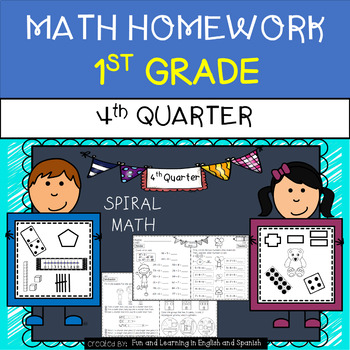 Math Homework - 1st Grade - 4th Quarter