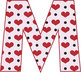 2 Valentine's Alphabets–Hearts and Chevrons-Latin Accents-