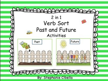 2 and 1 Verb Sort Past and Future Activities