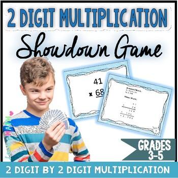 2 digit Multiplication Showdown Game