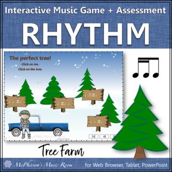 2 sixteenths/1 eighth Tree Farm - Interactive Rhythm Game