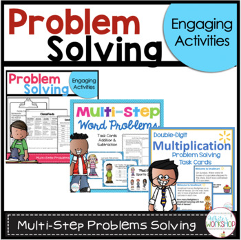 Addition and Subtraction Multi-step math problems