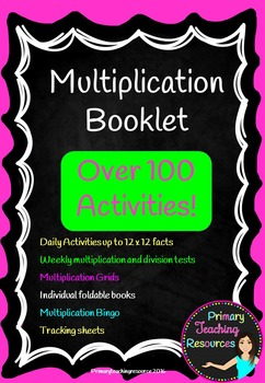 2 x 12 Times tables bumper bundle pack.