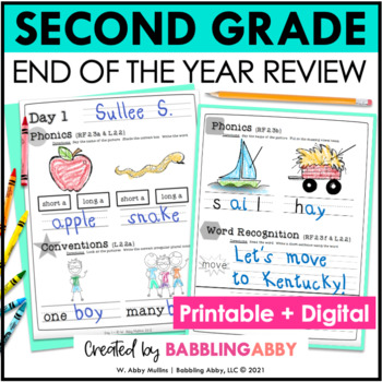 20 Day Check-Up {Second Grade: Reading Foundational Skills}