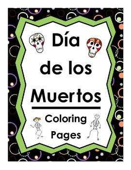 20 Dia de los Muertos Coloring Pages
