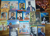 20 Famous American Books: Lincoln, M.L.King, Jackie Robins