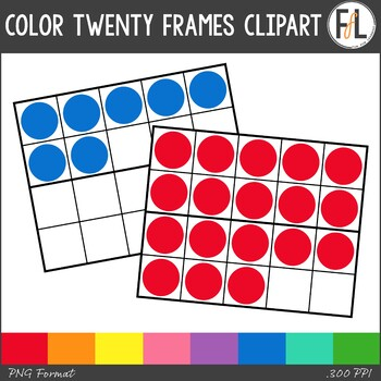 Color Twenty Frames Clipart