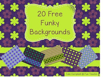 20 Free Funky Backgrounds
